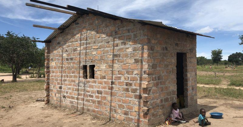 Keuken gebouwd door gemeenschap