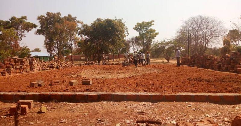 Preparations at Miloso Admin Block - 4