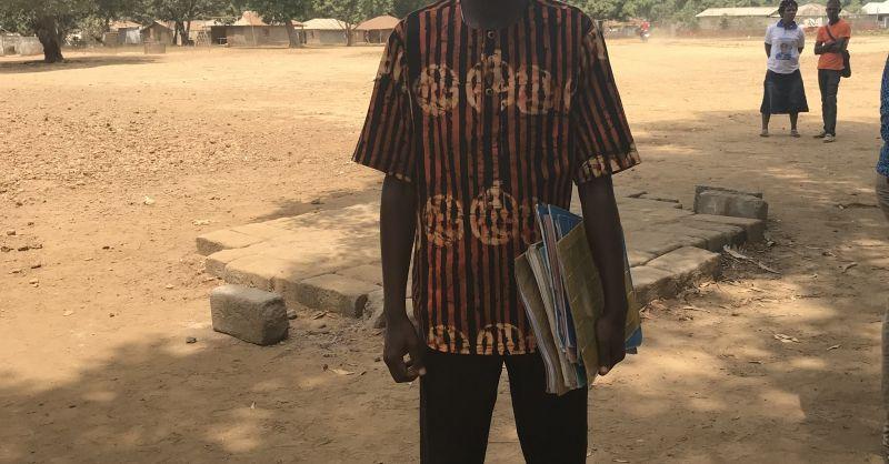 Mr. Issa Man Saray, schoolhoofd