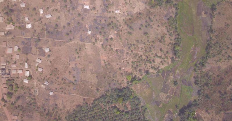 Luchtfoto Bamoi Luma