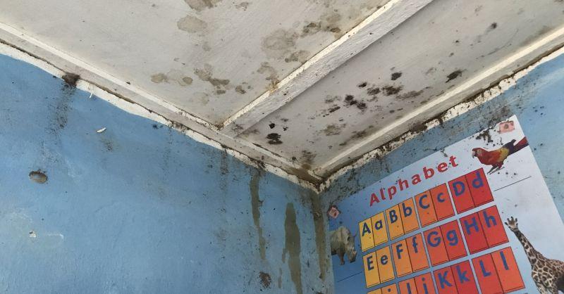 Problemen met het plafond