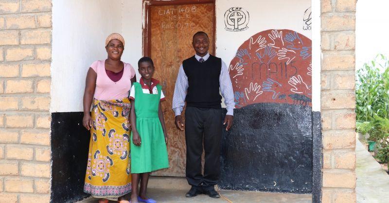 Mr. Simon Nhlane Mazwana and his family