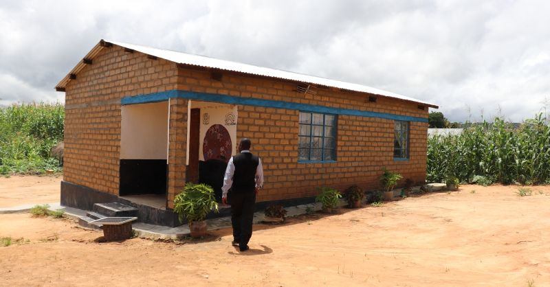 The teacher house build by WS in 2015