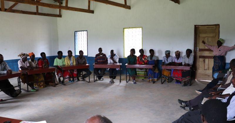 Bijeenkomst met verschillende groepen