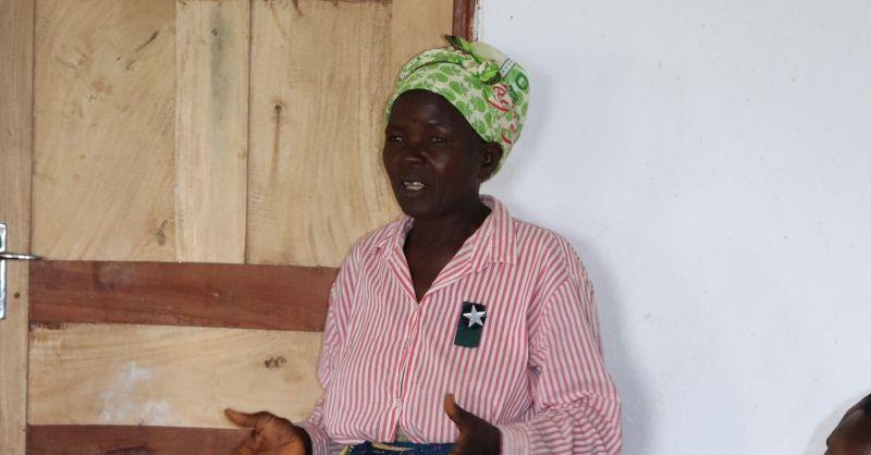 Voorzitter van de women group