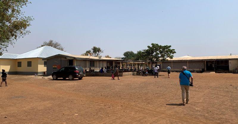 Behandel- en verpleeggebouwen achter het hoofdgebouw