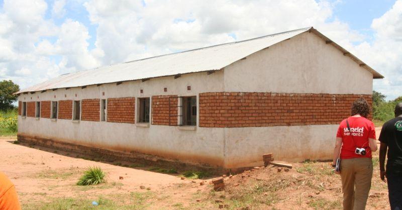 De huidige klaslokalen