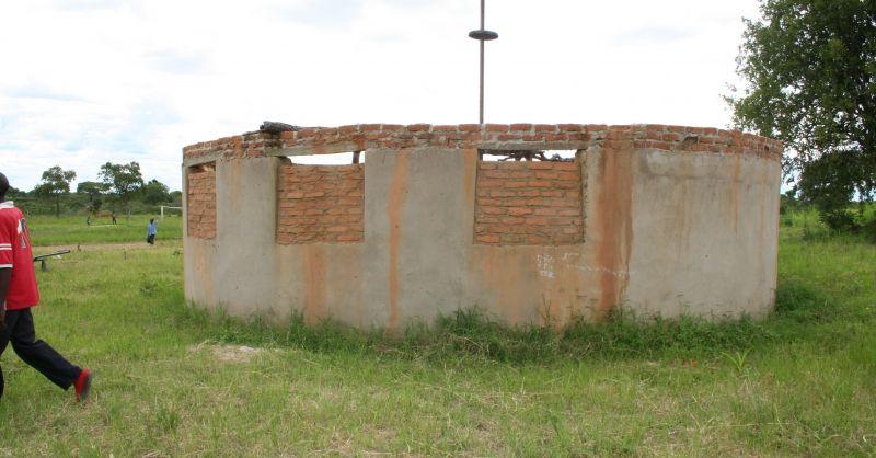 Pre-school in aanbouw