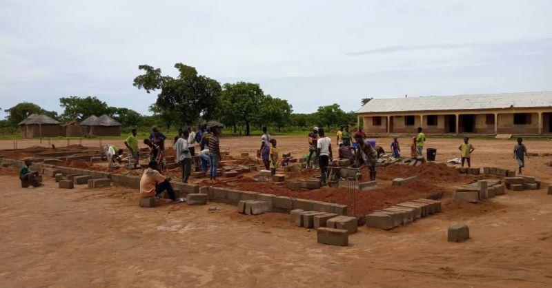 Foundation dug