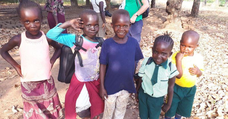 Kinderen uit de omgeving