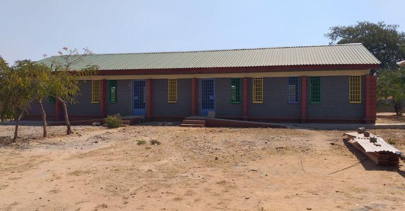 !st new school block