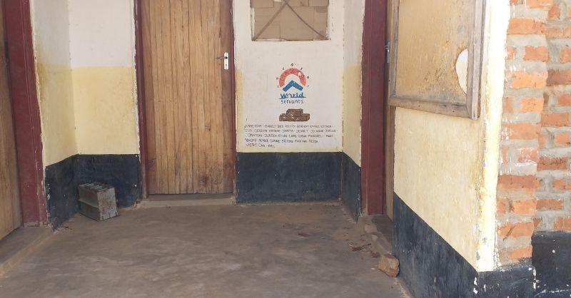 Front of WS school block