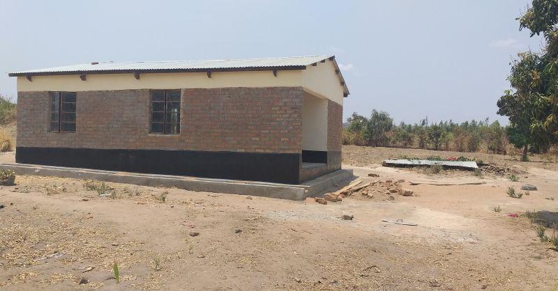 Headteachers house built by WS
