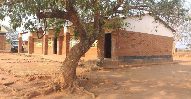 First school block of two classrooms
