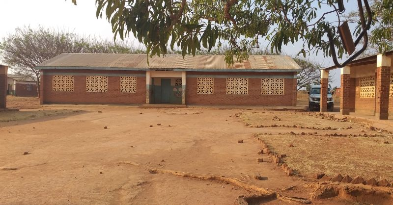 Second block of two classrooms