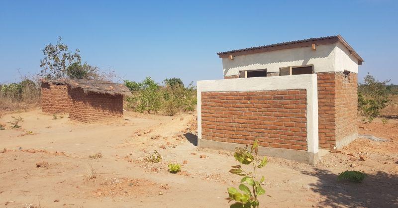 The latrine block