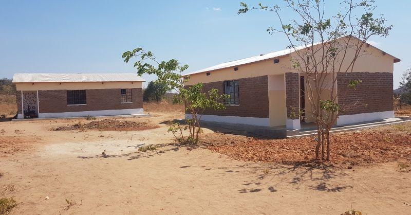 Two teachers houses