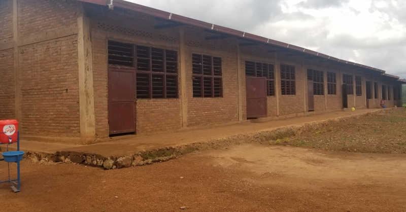 Newly built primary school (left wing)