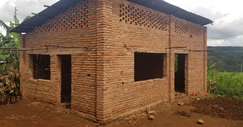 Kitchen for the school (under construction)