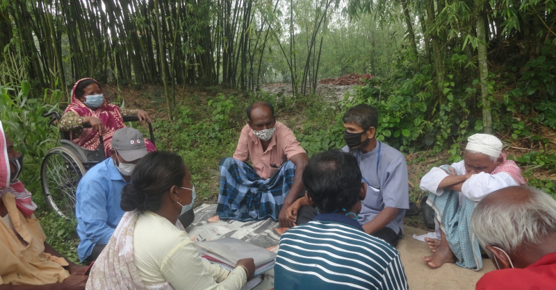 Meeting van de Self Help Group