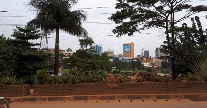 View on downtown Kampala