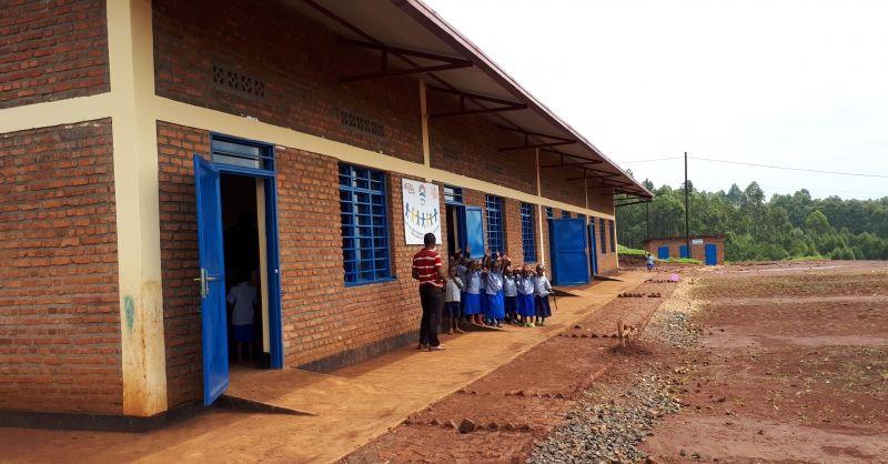 De nieuwe kleuterschool