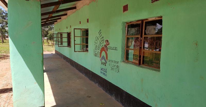 Boys Hostel Miloso - muurschildering