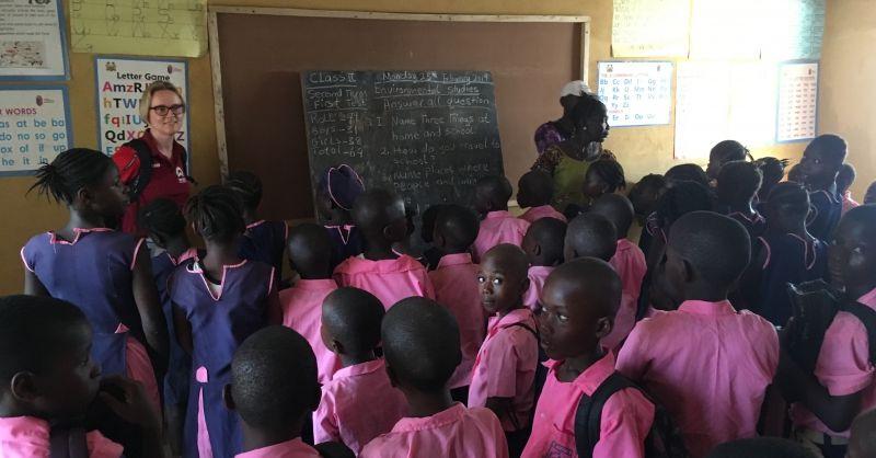 Nieuw klaslokaal