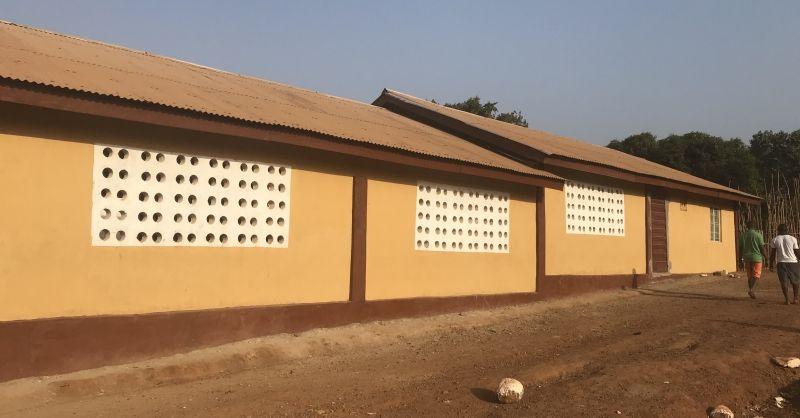 Nieuwe klaslokalen