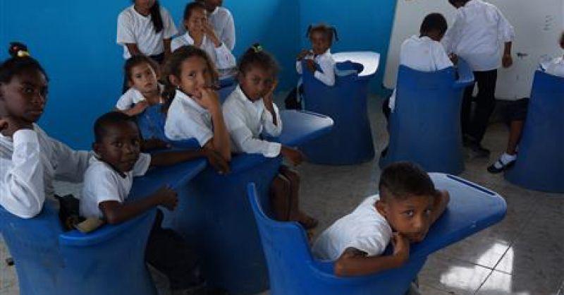Binnenkant klaslokaal