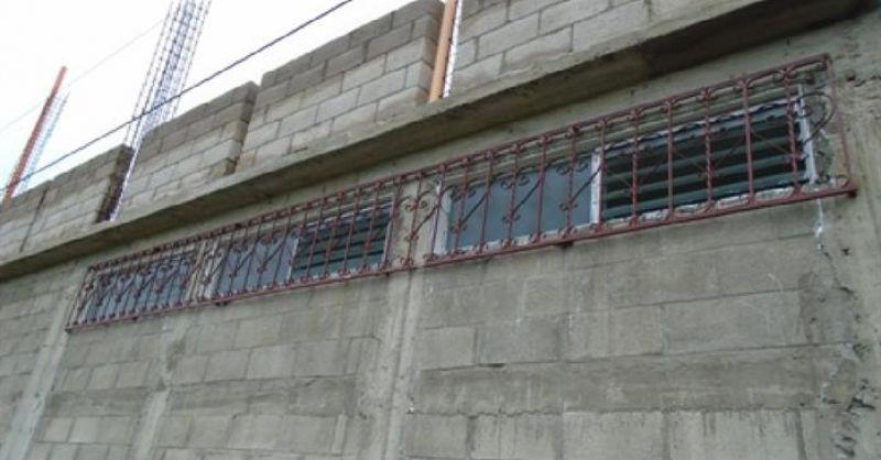 Ijzerwerk voor de ramen