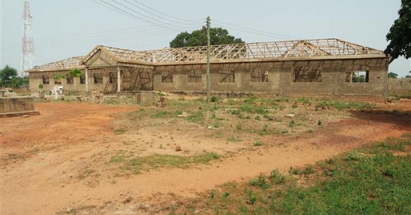 Health Centre in aanbouw