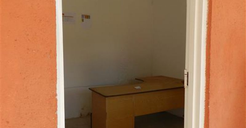Binnenzijde van kantoor
