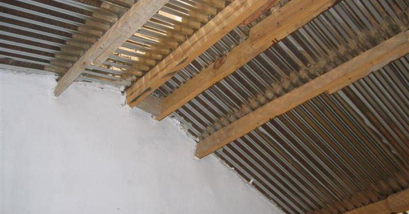 Dakconstructie binnenzijde
