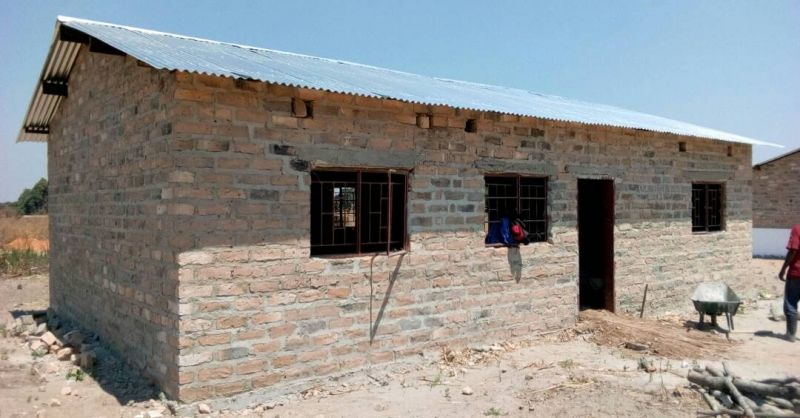 Nambo - progress on clinic extension - 1