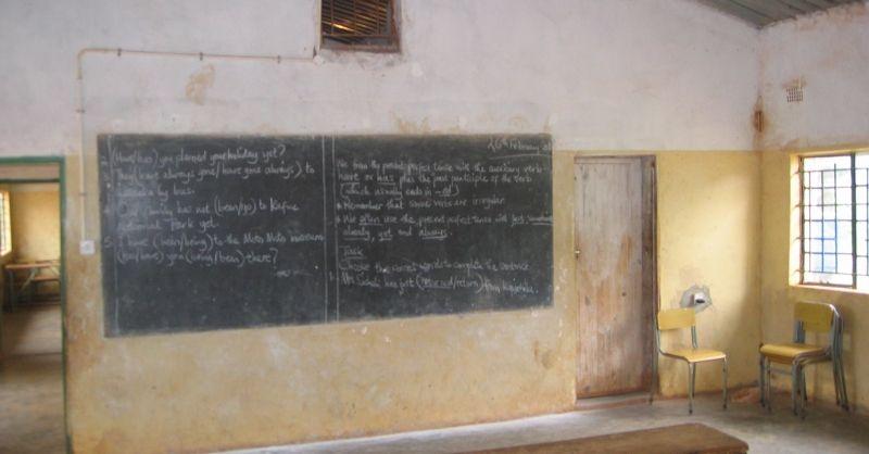 In de klas