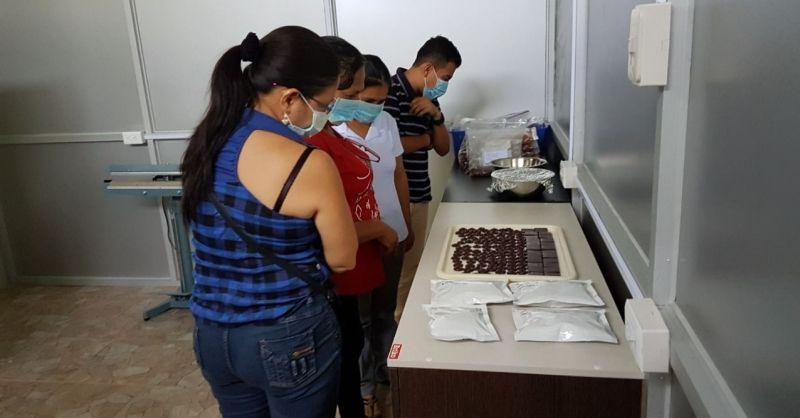 Producten van het cacaocentrum