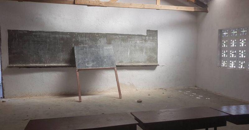 Binnenkijken in het nieuwe klaslokaal