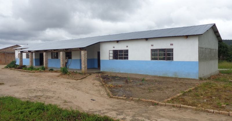 De nieuwe klaslokalen zorgen voor meer ruimte op school