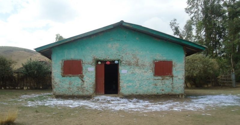 De woning van de leraren