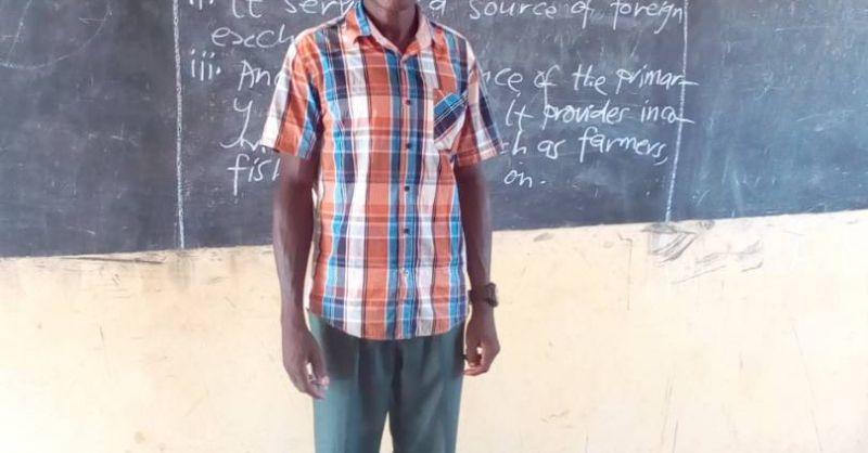 Teacher Abubakar Mohammed - social studies - JHS
