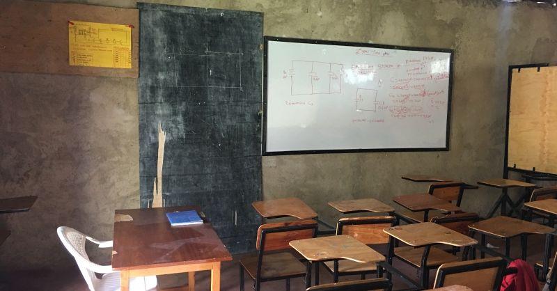 Klaslokaal trainingscentrum