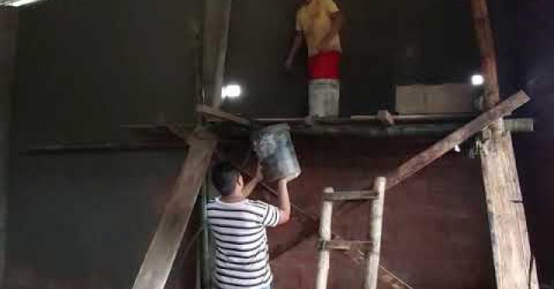 In San Miguel bouwen ze flink door