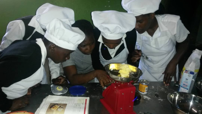 Measuring the correct amount of butter