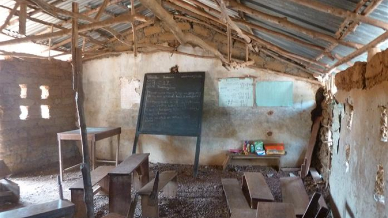 Tijdelijk klaslokaal