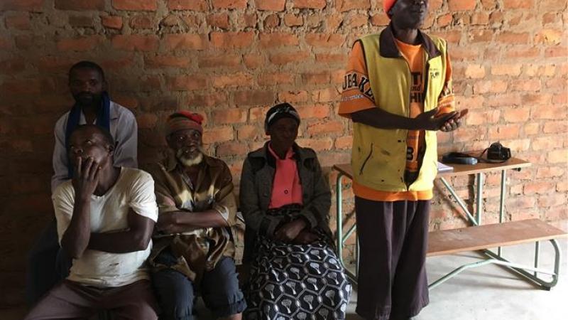 Ouderraad van de school in Katondo