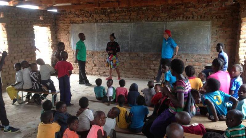 Binnenzijde huidige klaslokaal 2