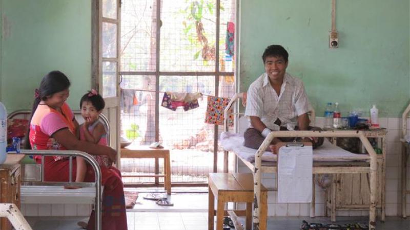 Leprosy Mission ziekenhuis in Mawlamyine - 1