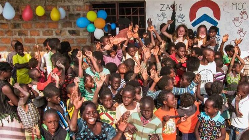 Zambiaans enthousiasme
