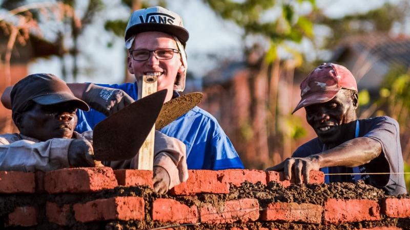 Intercultureel knallen op de bouw